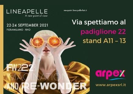 Arpex fiera dal 22 – 24 Settembre – Lineapelle Milano
